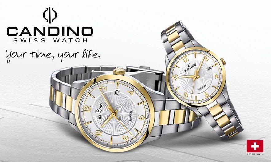 Švýcarská kvalita hodinek CANDINO