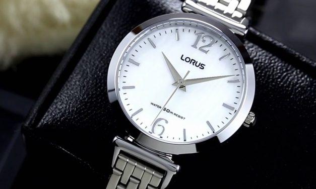 Když hledáte kvalitu za rozumnou cenu, zvolte hodinky LORUS