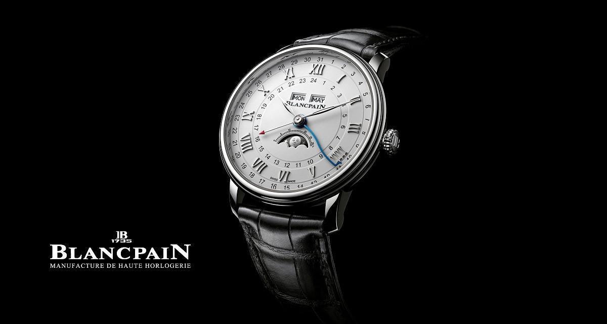 Hodinky Blancpain Villeret Quantième Complet GMT