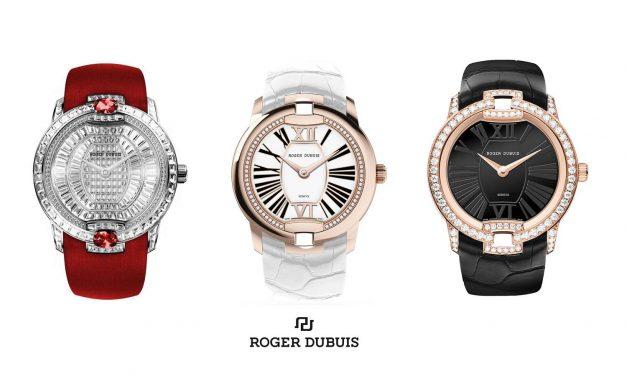 Šperkové hodinky Roger Dubuis Velvet