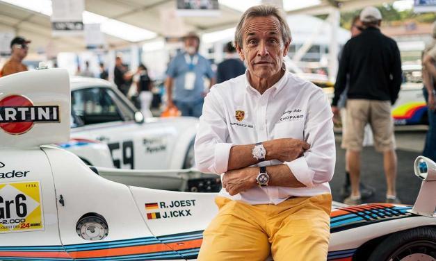 Sportovní model hodinek Chopard představen na akci Porsche