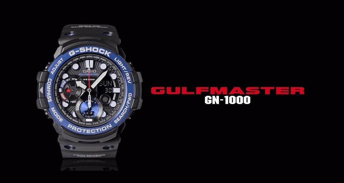 Casio G/G-Shock Gulfmaster GN-1000C
