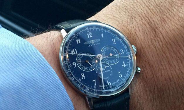 Půvab retro elegance mají hodinky Zeppelin