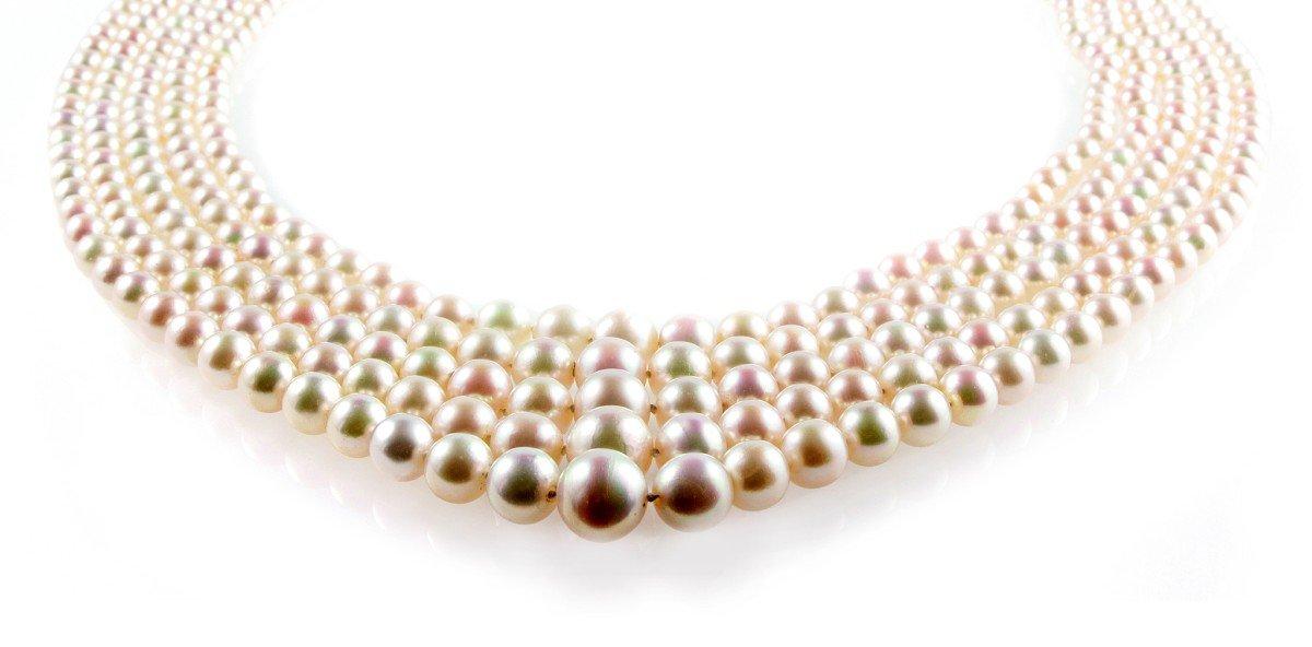 Aukce Antiquorum Monako 2018 Magnificent Jewels perlový náhrdelník