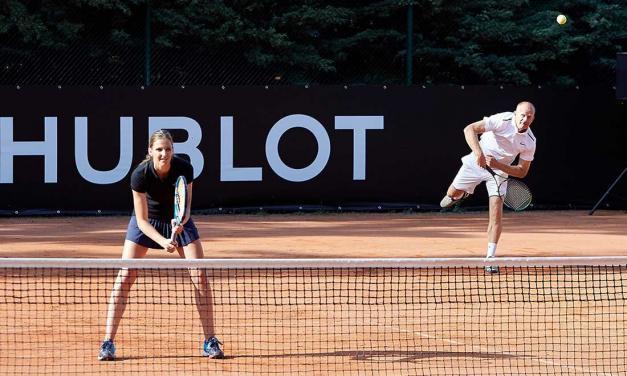 Hublot Open s Karolínou Plíškovou