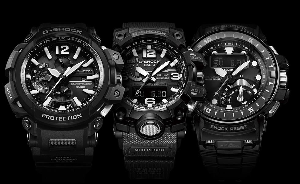 CASIO G-SHOCK hodinky pro náročné zákazníky