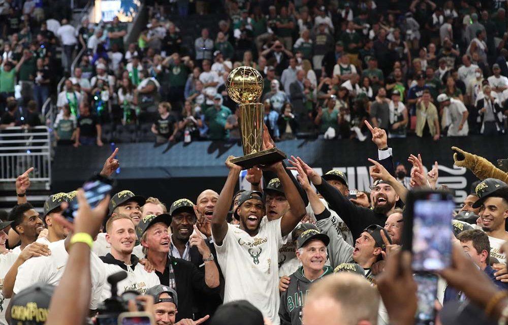 Vítězové NBA